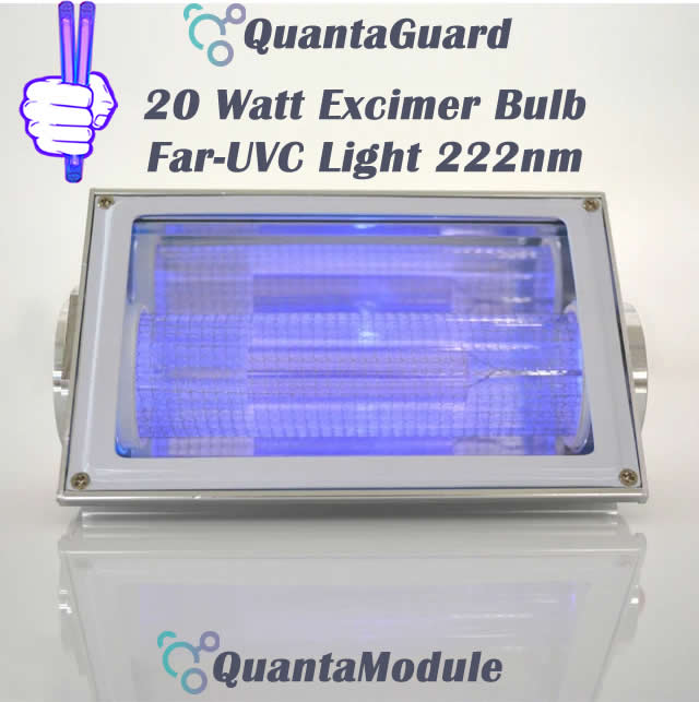 222-nm-far-uv-light-Manufacturers-direct-20w-QuantaModule-excimer-far-uvc-lamp-20-watt-24v-DC-band-pass-filter-and-housing-kit