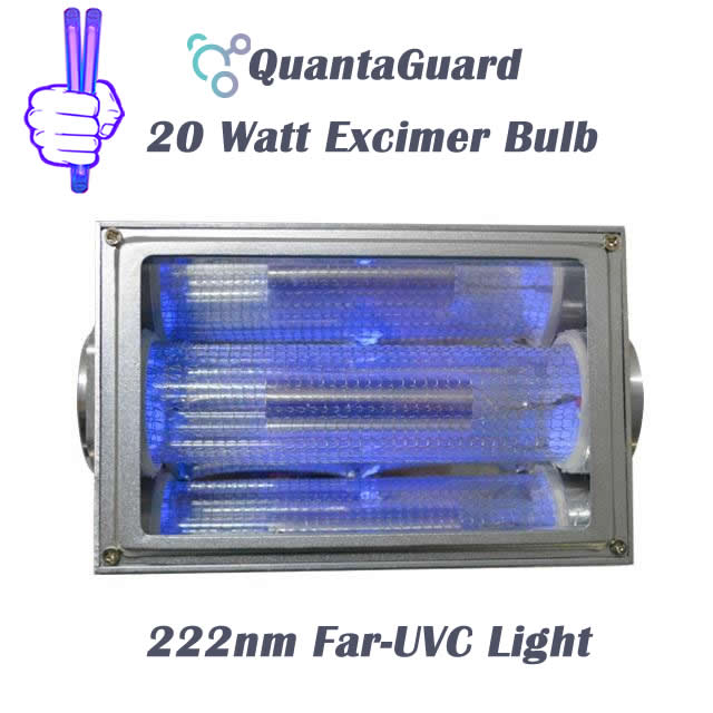 222-nm-far-uvc-light-Manufacturers-direct-20w-QuantaModule-excimer-far-uvc-lamp-20-watt-24v-DC-power-supply-band-pass-filter-and-housing