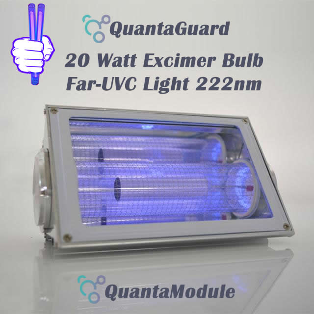 222-nm-far-uvc-light-Manufacturers-direct-buy-20w-QuantaModule-excimer-far-uvc-lamp-20-watt-24v-DC-power-supply-band-pass-filter-and-housing-kit